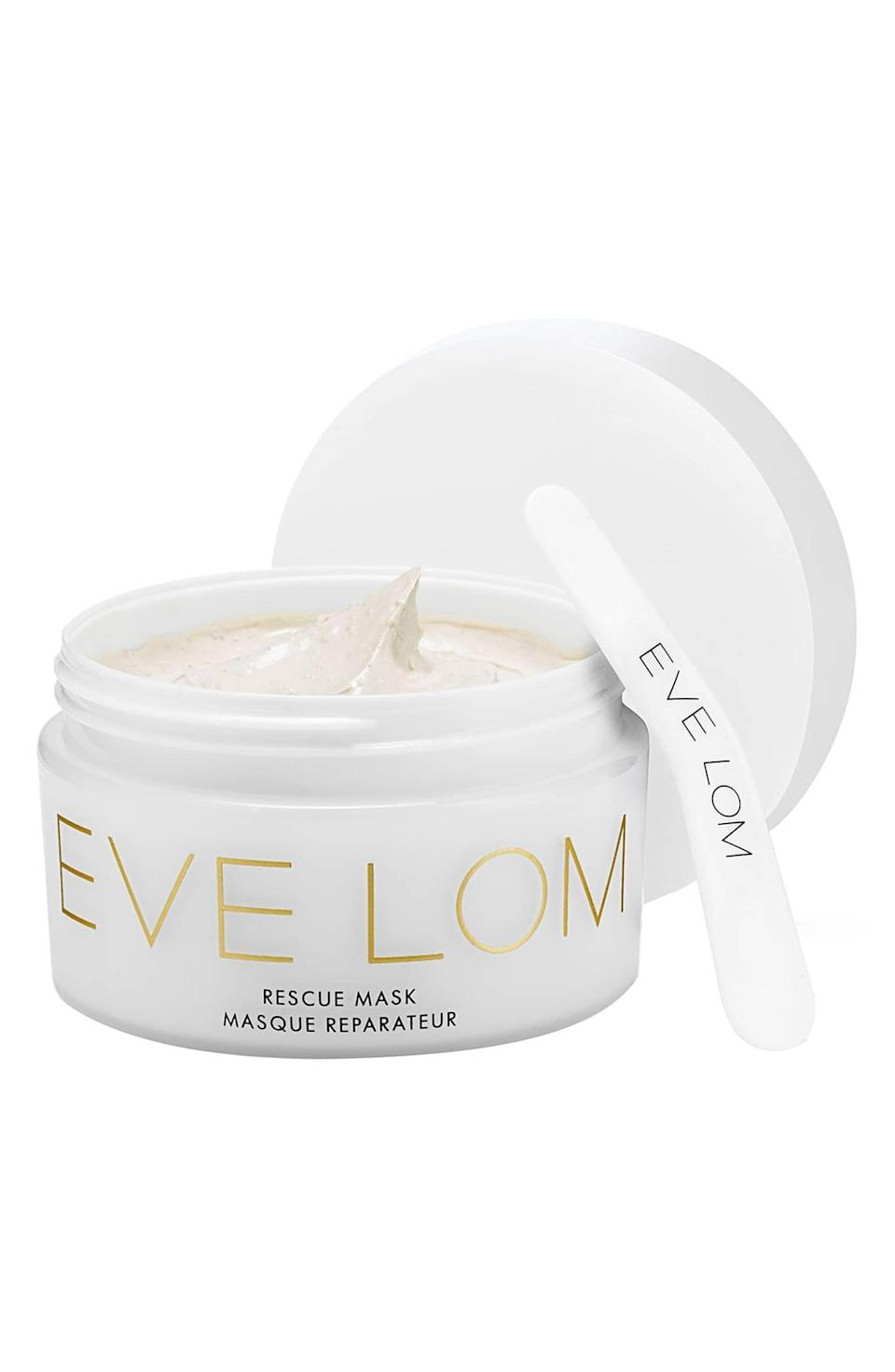 <p>Minimize irritation with this <span>Eve Lom Rescue Mask</span> ($85).</p>