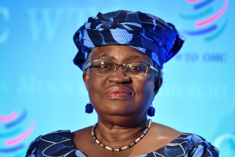 Former Nigerian finance and foreign minister Ngozi Okonjo-Iweala says she's keeping positive for her bid to lead the WTO