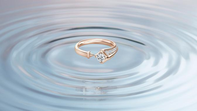 Forevermark Avaanti™ Collection Open Ring Rose Gold