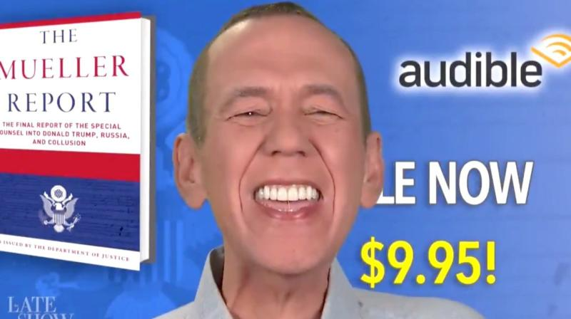 Gilbert Gottfried Offers A Hilariously Redacted Audiobook Of The Mueller Report