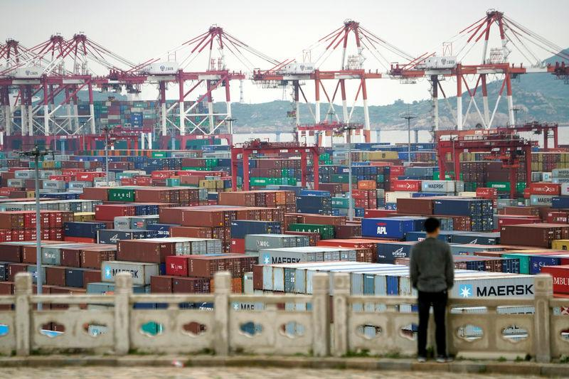 China's trade surplus with U.S. widens to $22.19 billion in April