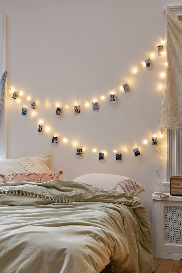 """<p>They can hang all their favorite memories on these <a href=""""https://www.popsugar.com/buy/Mod-Clips-String-Lights-528294?p_name=Mod%20Clips%20String%20Lights&retailer=urbanoutfitters.com&pid=528294&price=20&evar1=savvy%3Aus&evar9=45595492&evar98=https%3A%2F%2Fwww.popsugar.com%2Fphoto-gallery%2F45595492%2Fimage%2F46988061%2FMod-Clips-String-Lights&list1=gifts%2Choliday%2Cgift%20guide%2Cgifts%20under%20%2450&prop13=api&pdata=1"""" rel=""""nofollow"""" data-shoppable-link=""""1"""" target=""""_blank"""" class=""""ga-track"""" data-ga-category=""""Related"""" data-ga-label=""""https://www.urbanoutfitters.com/shop/mod-clips-string-lights?color=010&amp;quantity=1&amp;recommendation=dyrectray-OftenViewedWIth&amp;size=ONE%20SIZE&amp;type=REGULAR"""" data-ga-action=""""In-Line Links"""">Mod Clips String Lights</a> ($20).</p>"""