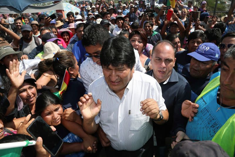 Bolivia election body proposes June-to-September window for coronavirus-delayed vote