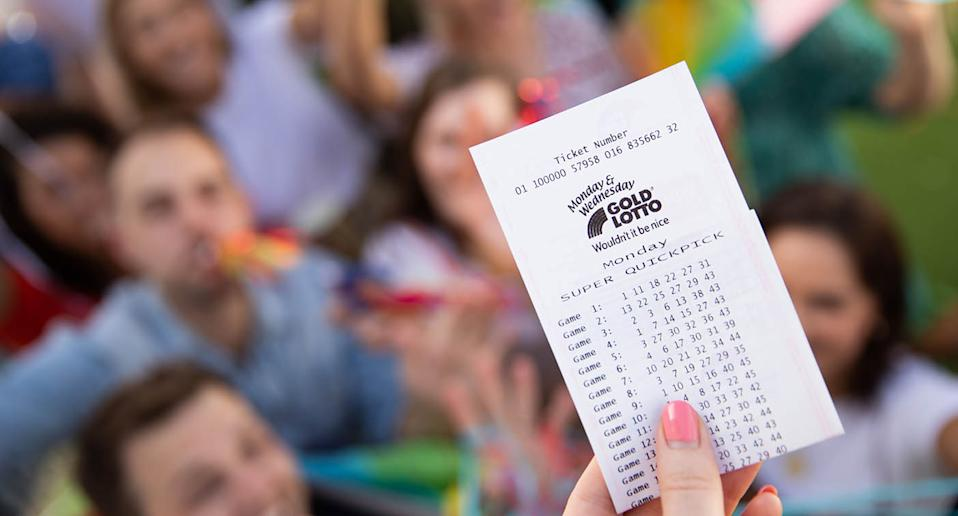 Man vows to never fly economy again after winning $1 million lotto prize. Source: The Lott