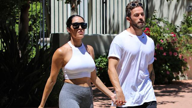 WWE Star Nikki Bella Takes a Hike With 'Soulmate' Artem Chigvintsev