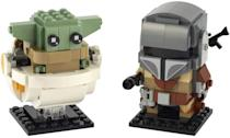 "<p>The <span>Lego BrickHeadz Star Wars The Mandalorian & The Child Kit</span> ($20, available Aug. 1) is best suited for kids ages 10 and up.</p> <p>Related: <a href=""https://www.popsugar.com/family/baby-yoda-toys-games-47236002?utm_medium=partner_feed&utm_source=smartnews&utm_campaign=related%20link"" rel=""nofollow noopener"" target=""_blank"" data-ylk=""slk:The Mandalorian Toys Are Coming in Hot! Check Out the 15 Baby Yoda Toys to Be Excited About"" class=""link rapid-noclick-resp"">The Mandalorian Toys Are Coming in Hot! Check Out the 15 Baby Yoda Toys to Be Excited About</a></p>"