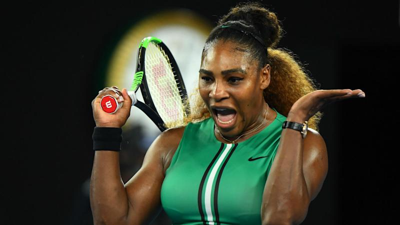 Serena shakes off Peterson in Miami opener