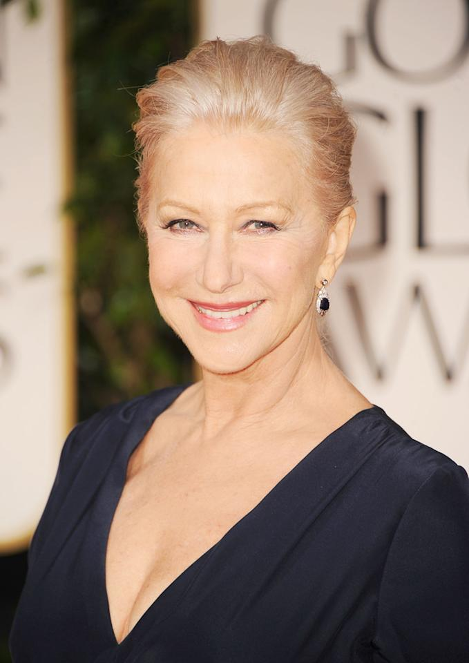Celebrity name: Helen Mirren Birth name: Helen Lydia Mironoff Mirren's Russian father, Vasiliy Petrovich Mironov, changed the family name in the 1950s to the more Anglicized Mirren.