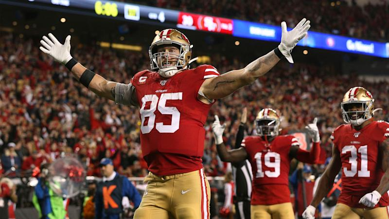 How 49ers feed off George Kittle's unique mentality in running game