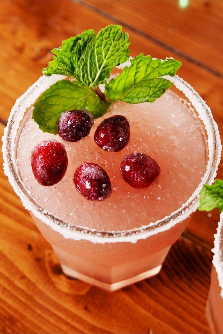 """<p>You'll be drinking these everyday until Christmas. </p><p>Get the recipe from <a href=""""https://www.delish.com/cooking/recipe-ideas/a25242232/mistletoe-margaritas-recipe/"""" rel=""""nofollow noopener"""" target=""""_blank"""" data-ylk=""""slk:Delish"""" class=""""link rapid-noclick-resp"""">Delish</a>. </p>"""