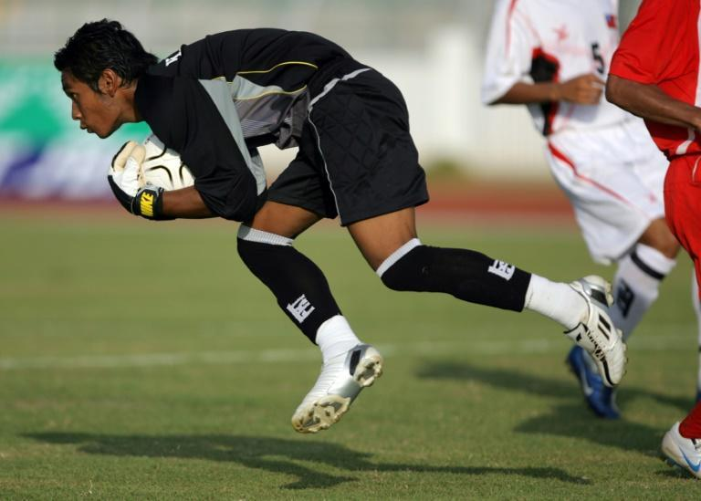 Goalkeeper Kyaw Zin Htet is boycotting Myanmar's World Cup and Asian Cup qualifiers