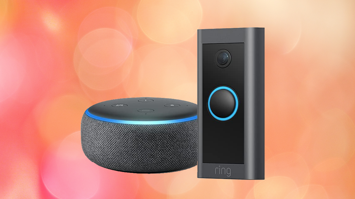 Safety, security, simplicity — the Ring Video Doorbell means never having to say (Photo: Amazon)