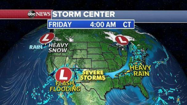 PHOTO: Kentucky had wind gusts up to 66 mph and golf ball-sized hail was reported in Illinois and Missouri. (ABC News)