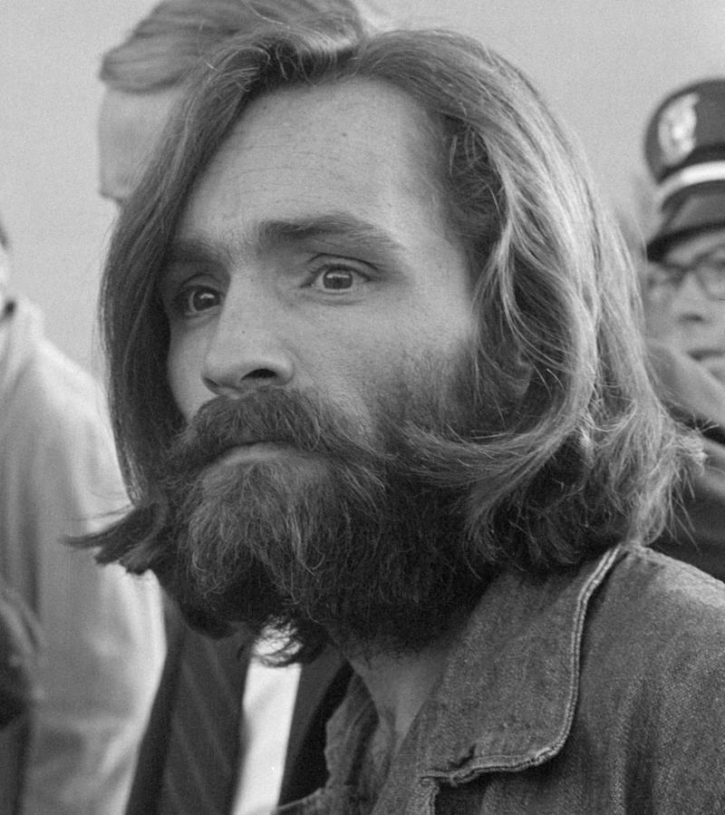 Charles Manson after his arrest.