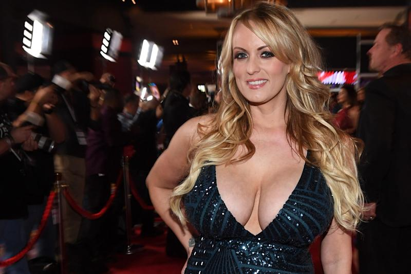 Stormy Daniels asked to appear on Celebrity Big Brother for just one night, TV bosses said today in a statement: Getty Images