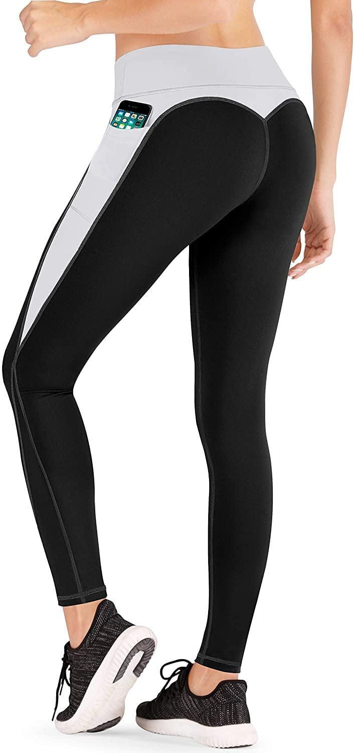 <p>We're obsessed with the colorblocking on these <span>Iuga High Waist Yoga Pants</span> ($27, originally $30).</p>