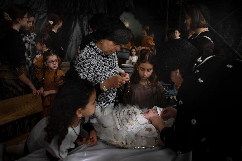 Israel Firstborn Redeemed Photo Gallery (Copyright 2021 The Associated Press. All rights reserved.)