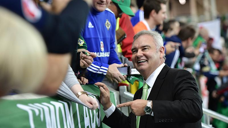 Eamonn Holmes has been a lifelong supporter of Manchester United