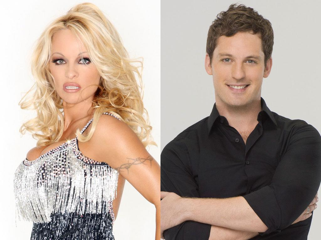 "Pamela Anderson will be dancing with Tristan MacManus this fall on ABC's ""Dancing With the Stars: All-Stars,"" premiering September 23."