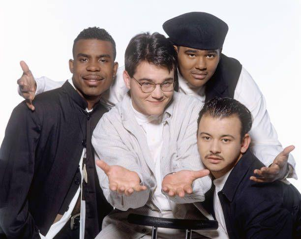 """<p>Ahh, sweet harmony. If there was one thing the 90s all-male groups shared, it was a love for carefully crafted multi-part harmonies. The group's soulful rendering of a country song, <a href=""""https://www.amazon.com/I-Swear/dp/B001OGLOOK/?tag=syn-yahoo-20&ascsubtag=%5Bartid%7C10063.g.35225069%5Bsrc%7Cyahoo-us"""" rel=""""nofollow noopener"""" target=""""_blank"""" data-ylk=""""slk:""""I Swear,"""""""" class=""""link rapid-noclick-resp"""">""""I Swear,""""</a> was a hit for John Michael Montgomery in 1993 and for All-4-One in 1994. It also won a Grammy for them in 1995. </p>"""