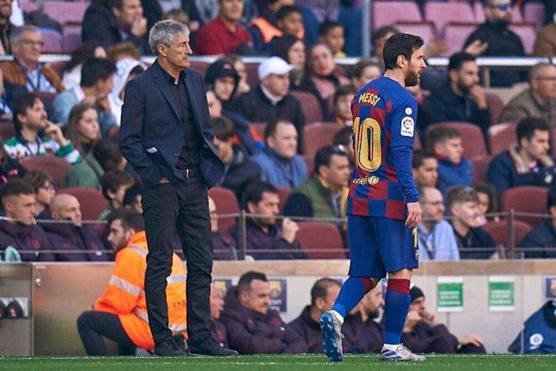 Lionel Messi-Eder Sarabia Rift? Barcelona Manager Quique Setién Douses Tension Rumours in Camp Nou, Says, 'The Relationship With the Squad Is Good'