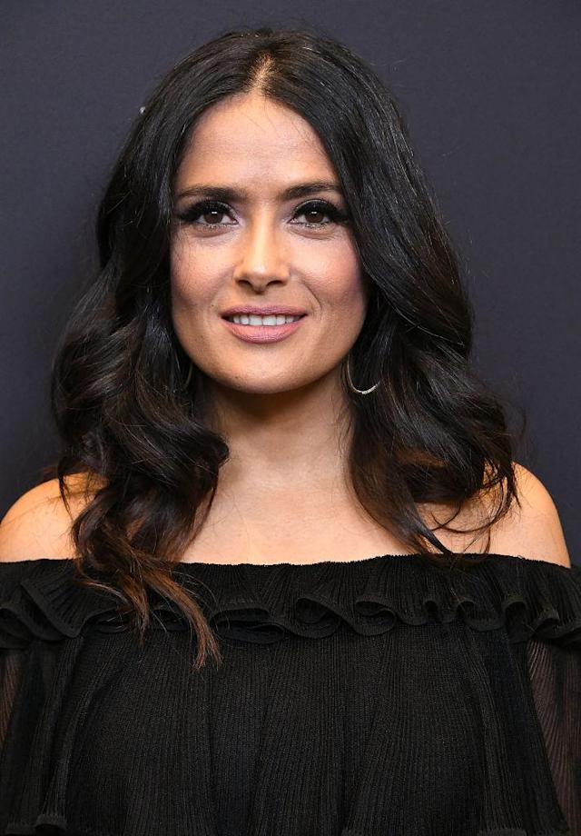 Salma Hayek in November 2017. (Photo: Steve Granitz/WireImage)