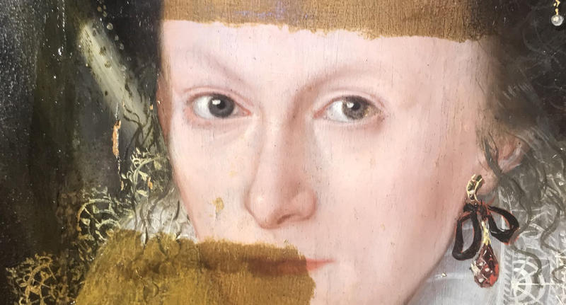 British art dealer and historian Philip Mould shared astonishing footage of the partial transformation of a 17th-century painting.