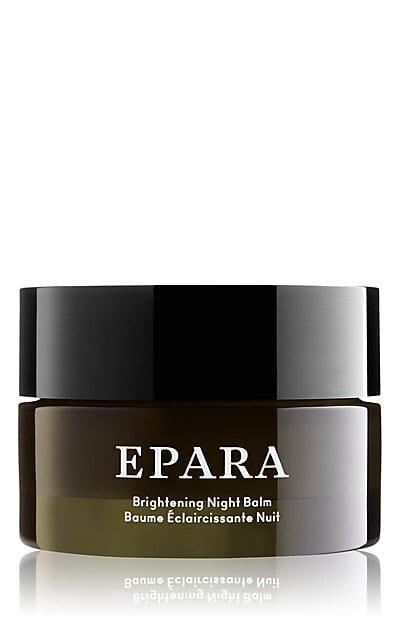 """<h3>Epara Skincare</h3><br>When no products seemed to work in treating her dry, uneven skin condition, Oxford University MBA Ozohu Adoh created her own using only organic oils, butters, and plants from Africa. After noticing a significant difference in a short period of time, Adoh decided to launch a luxury line with high-quality, botanical-based products specifically catering to the needs of melanated skin, like this rich, nourishing shea butter-based balm.<br><br><strong>EPARA Skincare</strong> Brightening Night Balm, $, available at <a href=""""https://go.skimresources.com/?id=30283X879131&url=https%3A%2F%2Fwww.saksfifthavenue.com%2Fepara-skincare-brightening-night-balm%2Fproduct%2F0400012292012"""" rel=""""nofollow noopener"""" target=""""_blank"""" data-ylk=""""slk:Saks Fifth Avenue"""" class=""""link rapid-noclick-resp"""">Saks Fifth Avenue</a>"""