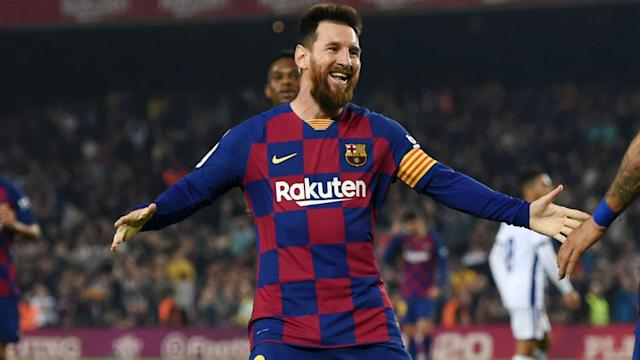 Lionel Messi was praised by Robert Lewandowski after winning a record sixth Ballon d'Or.