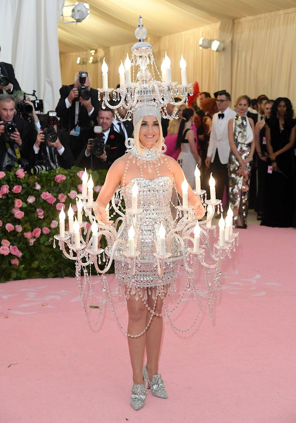 """<h1 class=""""title"""">Katy Perry in Moschino, 2019</h1><cite class=""""credit"""">Photo: Getty Images</cite>"""