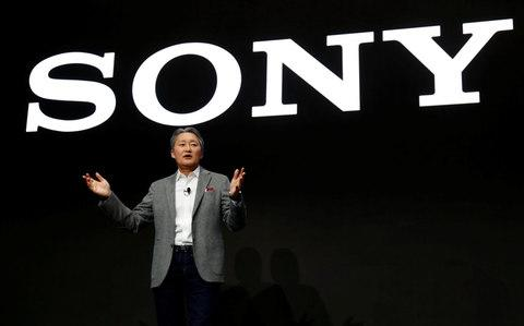 Kazuo Hirai, president and CEO of Sony Corporation, speaks during a news conference at the 2018 CES in Las Vegas - Credit: Steve Marcus/REUTERS