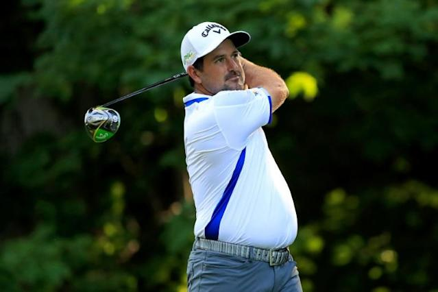Mexico's Roberto Diaz fired a nine-under par 62 to seize the lead (AFP Photo/ANDY LYONS)