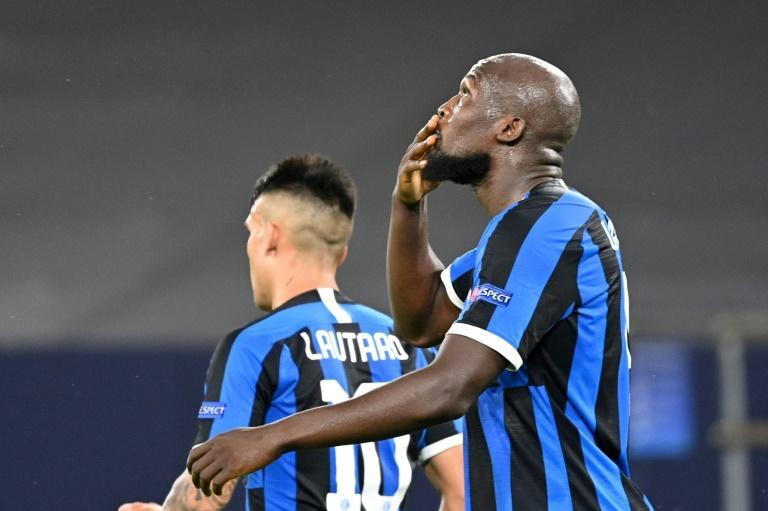 Former Manchester United forward Romelu Lukaku scored his 30th goal of the season in Inter Milan's win (AFP Photo/Ina Fassbender)
