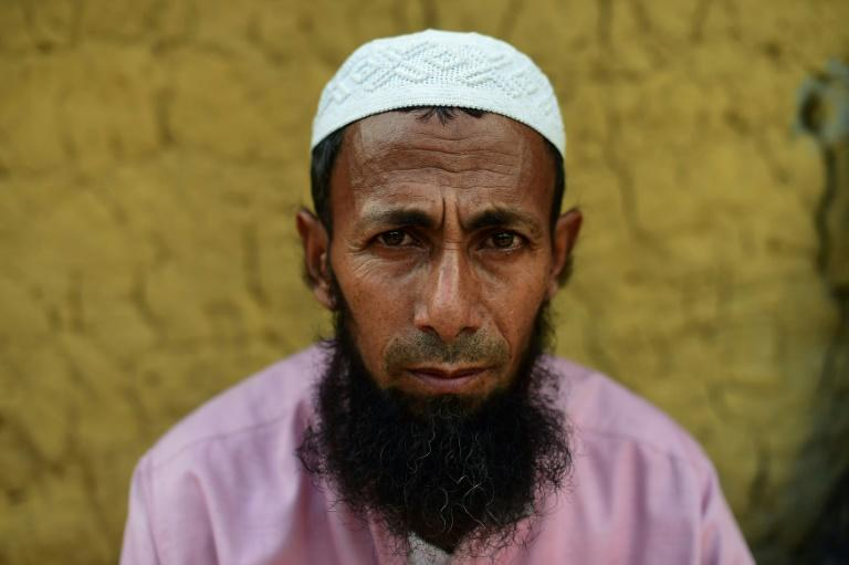 Rohingya refugee Fazol Ahmed's family fled an earlier wave of violence against the Muslim minority in Myanmar's Rakhine state in 1978, when he was still a child
