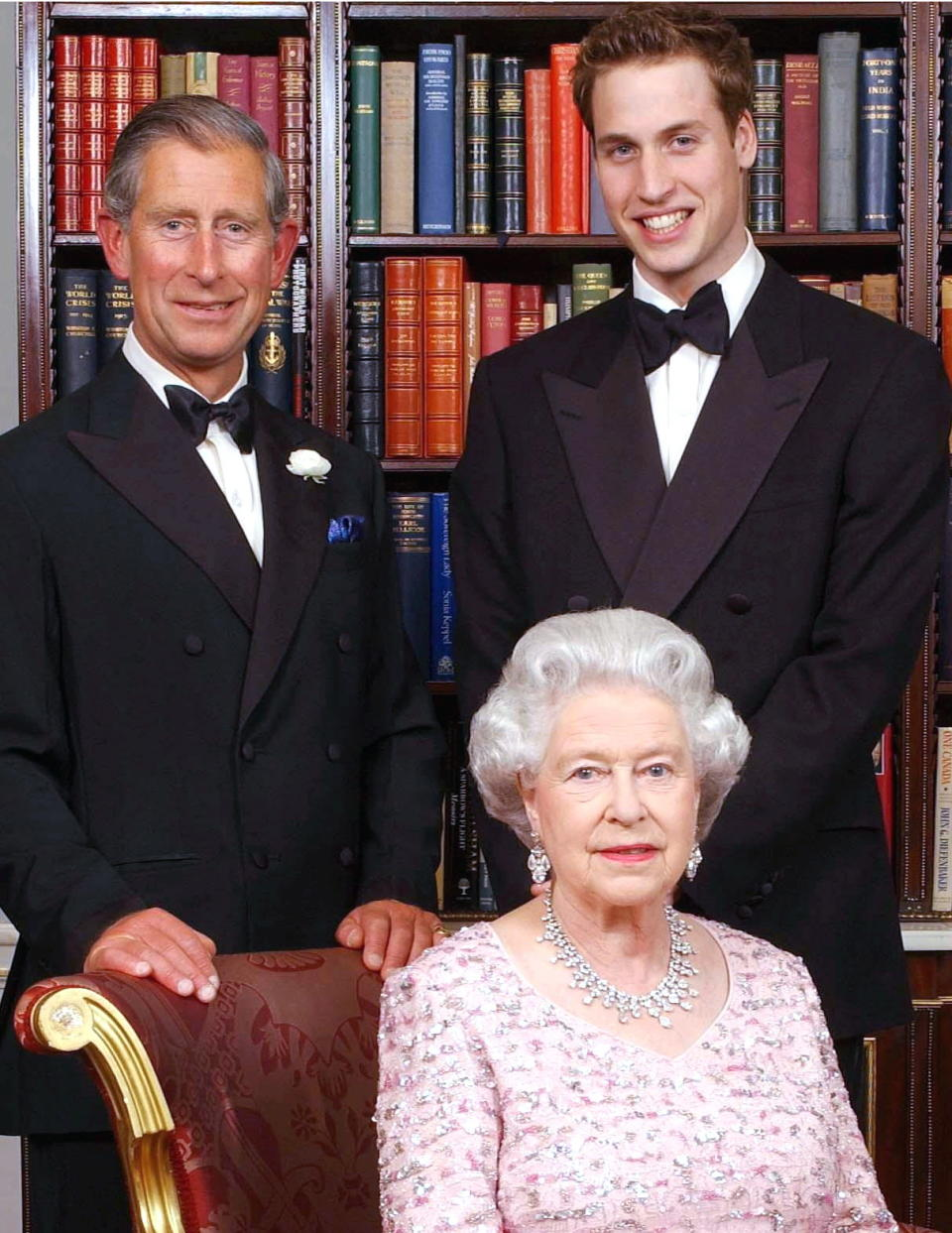prince charles william and the queen