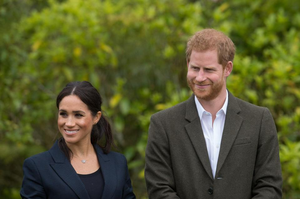 <p>Harry and Meghan were married in 2018</p>Getty Images