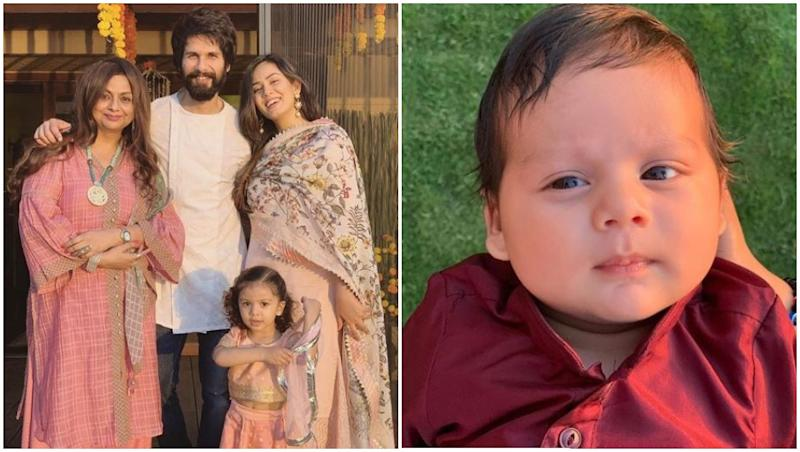 Mira Rajput Shares The First Picture of Zain Kapoor and Diwali Just Gets A Lot Brighter! View Pic