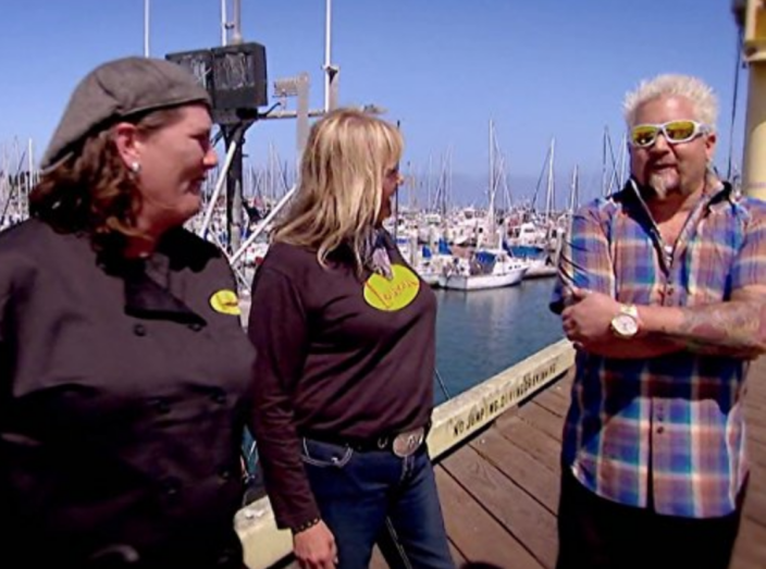 """<p>Although the crew can be holed up in your restaurant for days, setting up equipment, capturing footage and filming the cooking segment with Guy on <a href=""""https://tcbmag.com/the-diners-drive-ins-and-dives-effect/"""" rel=""""nofollow noopener"""" target=""""_blank"""" data-ylk=""""slk:takes about half a day"""" class=""""link rapid-noclick-resp"""">takes about half a day</a>.</p>"""