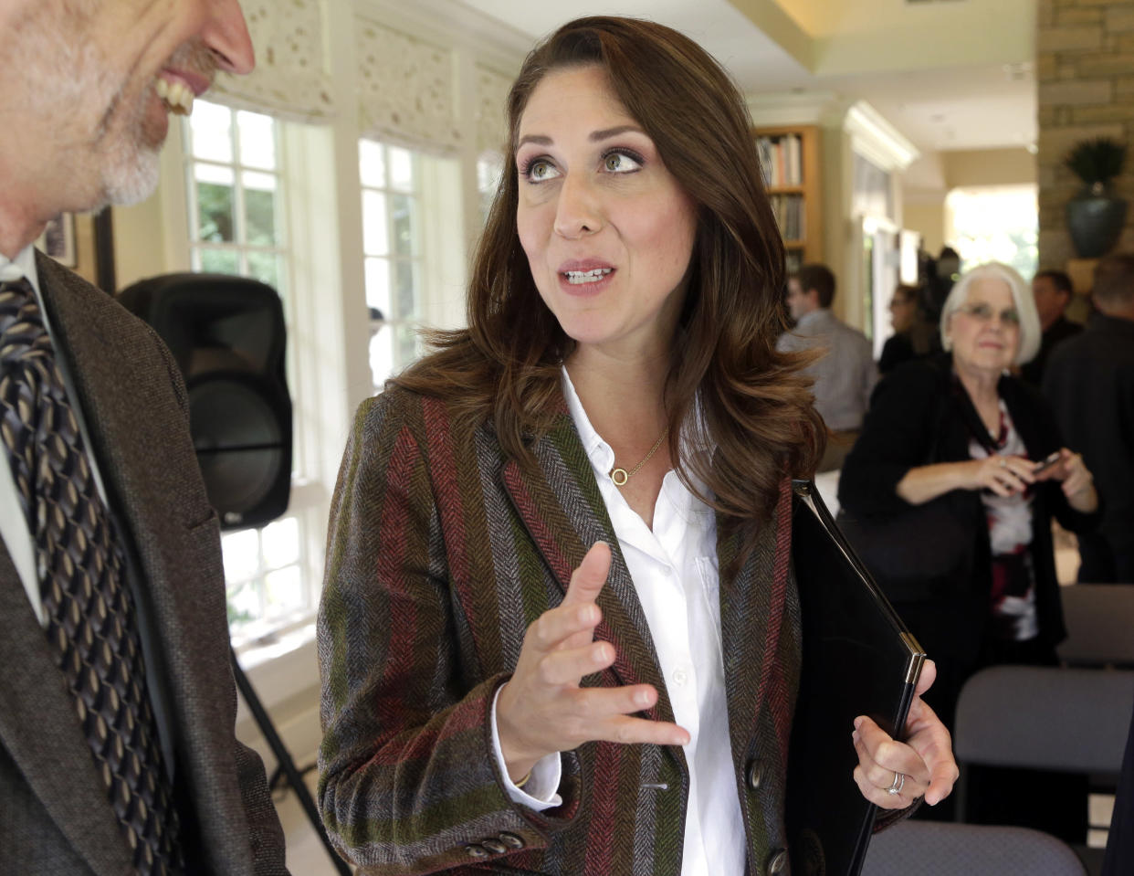 Republican U.S. Rep. Jaime Herrera Beutler, representing southwest Washington state's 3rd Congressional District, at a gathering in Vancouver, Wash., on Sept, 10, 2018. (Photo: Don Ryan/AP)