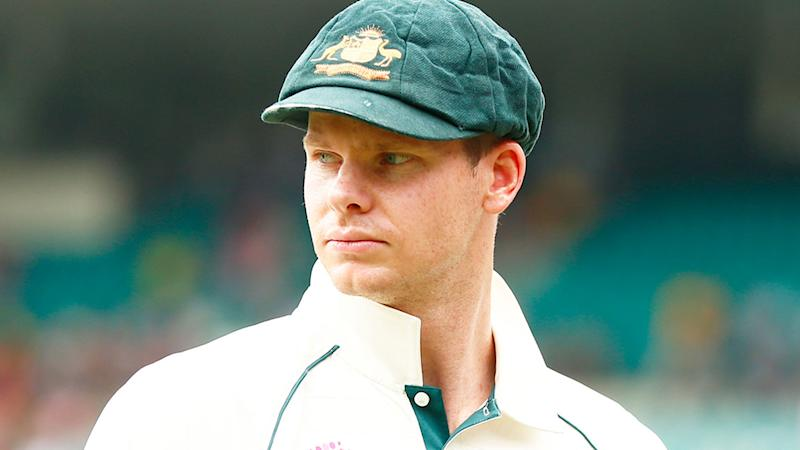 Steve Smith, pictured here in action for Australia in Test cricket.