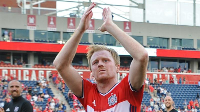 Dax McCarty MLS Chicago Fire 04152017