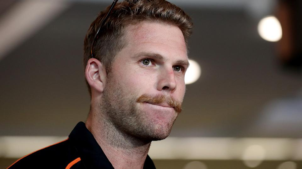 New Zealand fast bowler Lockie Ferguson is pictured.