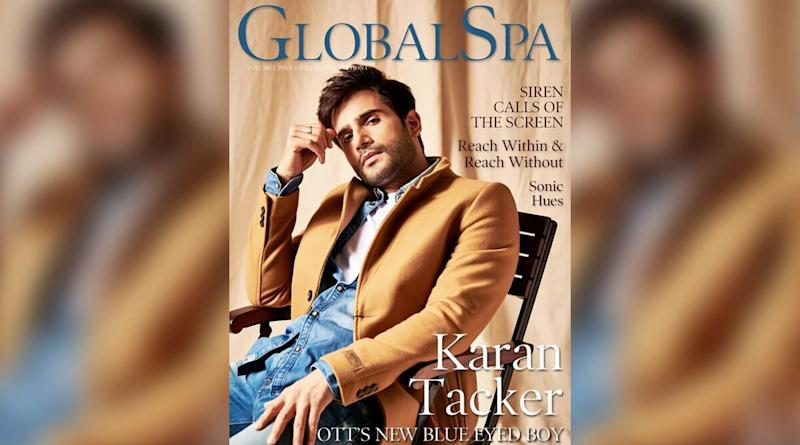 Karan Tacker Is Dapper, Gets Candid About Mental and Physical Wellness As the Cover Star for Global Spa Asia Magazine!