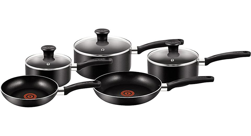 Tefal 5 Piece Pots and Pans Set