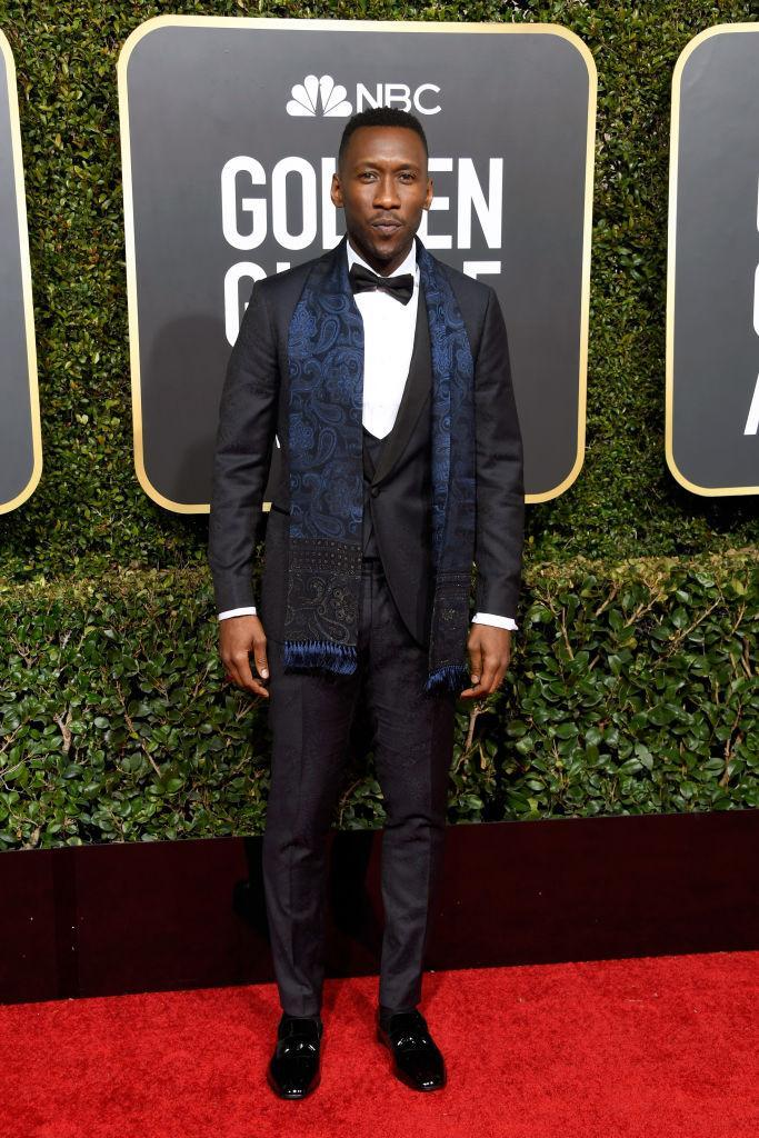<p>Mahershala Ali attends the 76th Annual Golden Globe Awards at the Beverly Hilton Hotel in Beverly Hills, Calif., on Jan. 6, 2019. (Photo: Getty Images) </p>