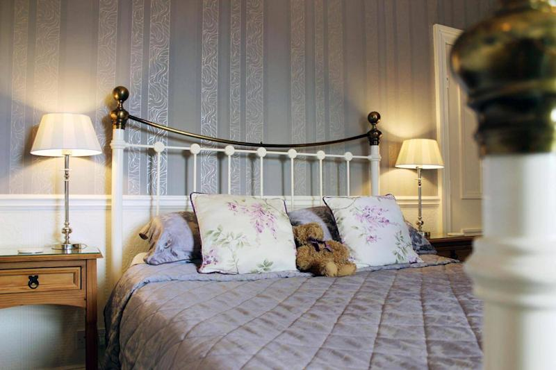 Each room is themed for a particular flower (The Bloomsbury)