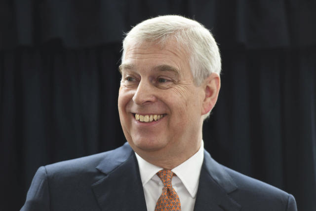 Prince Andrew announced this week he would be stepping down from all official royal public duties amid the escalation of his associations in the Jeffrey Epstein scandal. (Getty)