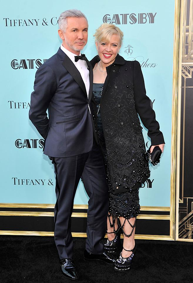 "Director Baz Luhrmann and Catherine Martin attend the ""The Great Gatsby"" world premiere at Avery Fisher Hall at Lincoln Center for the Performing Arts on May 1, 2013 in New York City."