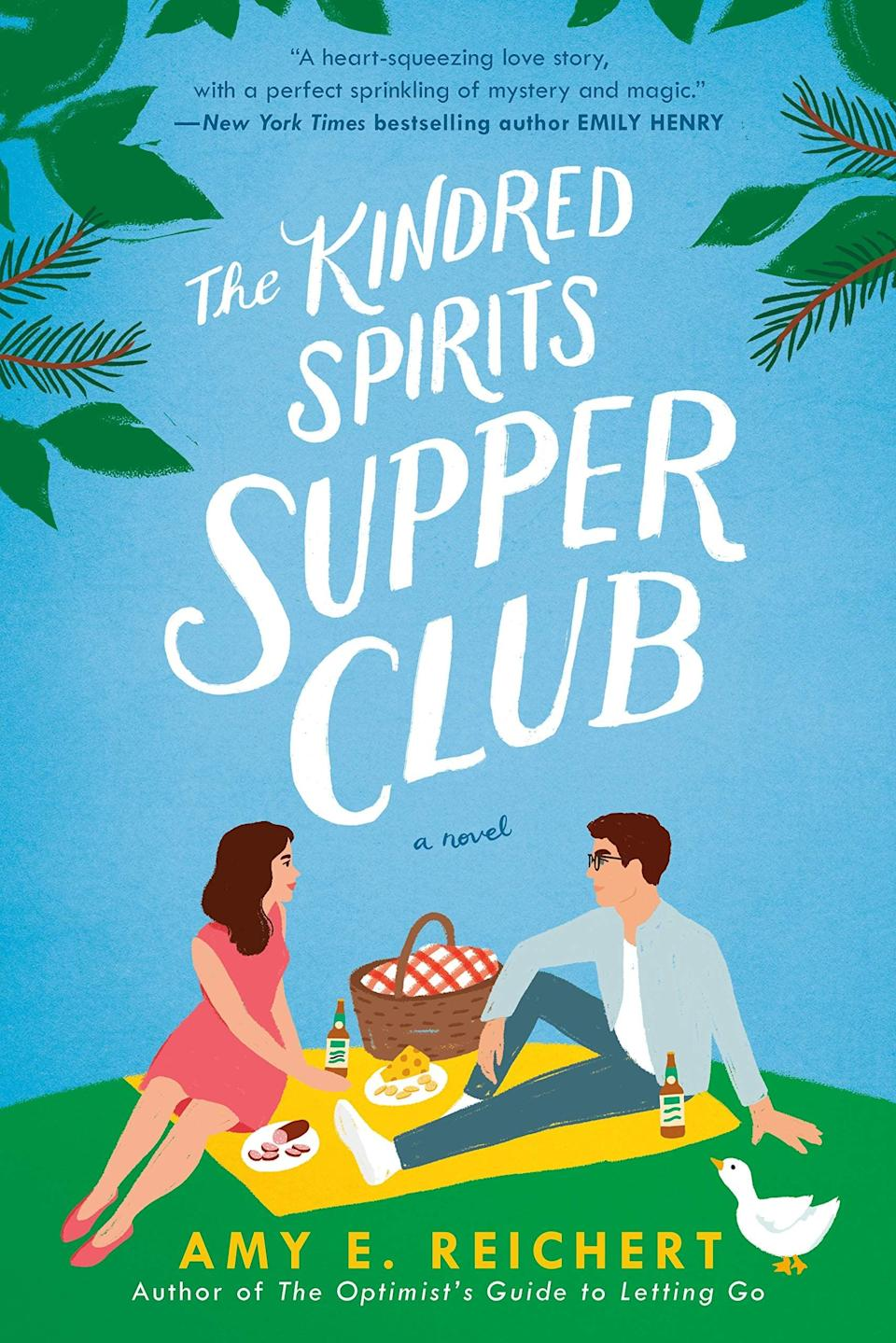 <p>More quirky than strange and cute than creepy, this story includes a few friendly spirits that will make any ghost believer smile. In <span><strong>The Kindred Spirits Supper Club</strong> by Amy E. Reichert</span> ($14), Sabrina Monroe has always felt alienated because of the family curse that allows her to see ghosts. While her mom acts as a spirit medium, Sabrina wants nothing to do with the family business. But it isn't until she meets Ray Jasper, the owner of the local supper club, that she starts to realize that maybe being different isn't so bad.</p> <p>From awkward, anxious Sabrina to sweetly determined Ray to sassy Molly, this story is full of endearing characters! The ghost side stories are fun and add that little something extra to the small-town romance.</p> <p><em>Out April 20</em></p>
