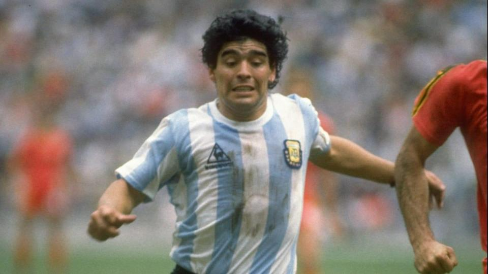 Diego Maradona of Argentina | Mike King/Getty Images